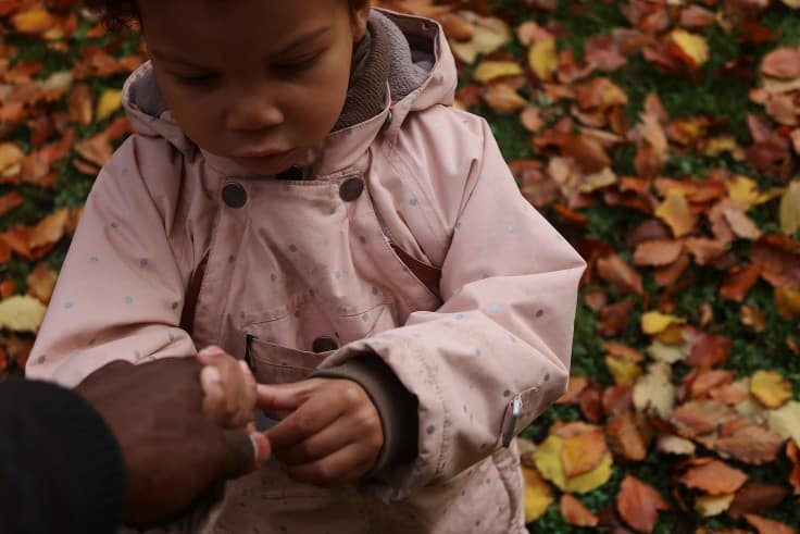 Barn i skoven