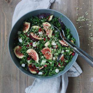 Granatæbler i salat