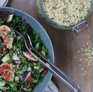 Granatæble i salat