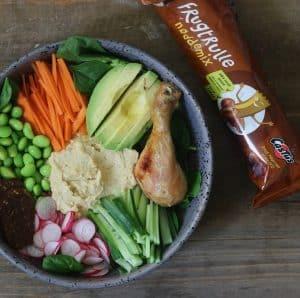 Buddha bowl med grønt