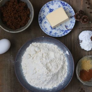 Ingredienser krydder småkager