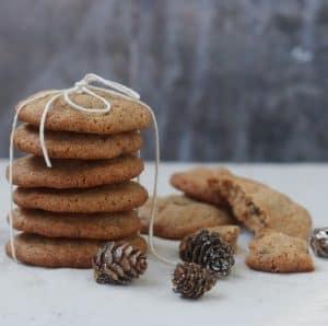 Julecookies med kanel