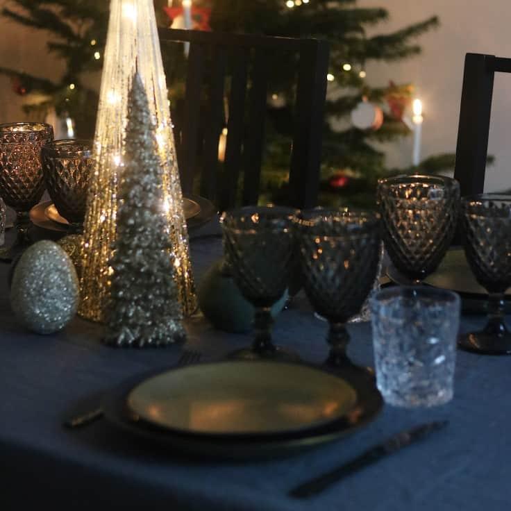 Julebord opdækning 2018