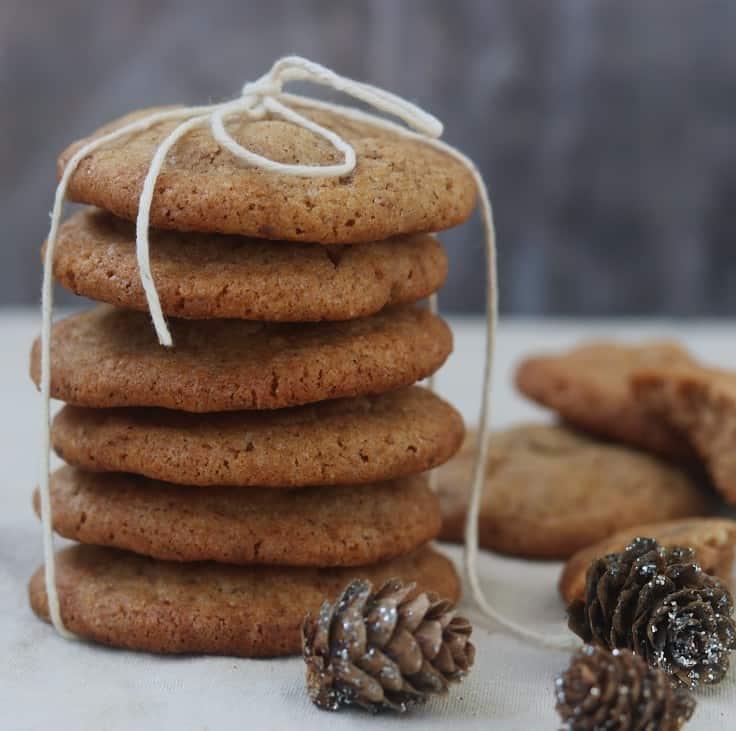 Julecookies med kanel og nelliker