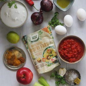 Ingredienser indisk suppe