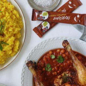 Marokkansk kylling med Castus