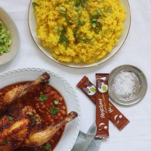 Kylling i marokkansk sauce