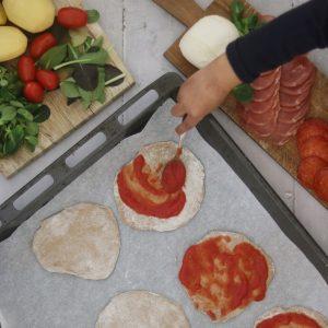 Minipizzaer fremgangsmåde