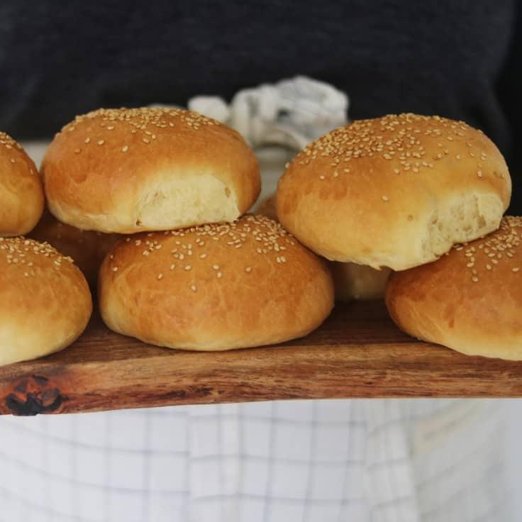 Brioche burgerboller