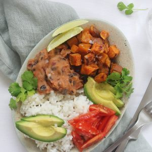 Vegetarisk mexi bowl