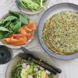 Madpandekager med quinoa