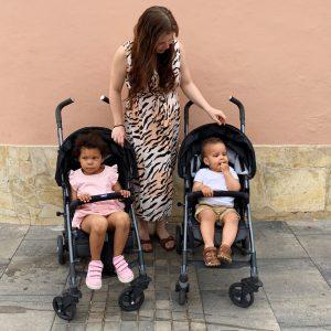 Børnefamilie på Tenerife