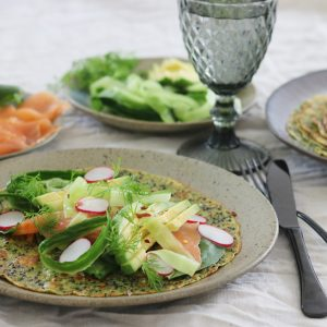 Mad pandekager med quinoa