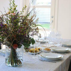 Påskefrokost bord