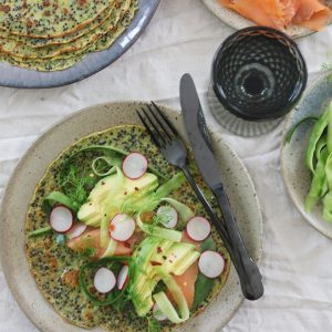 Madpandekager med spinat og quinoa