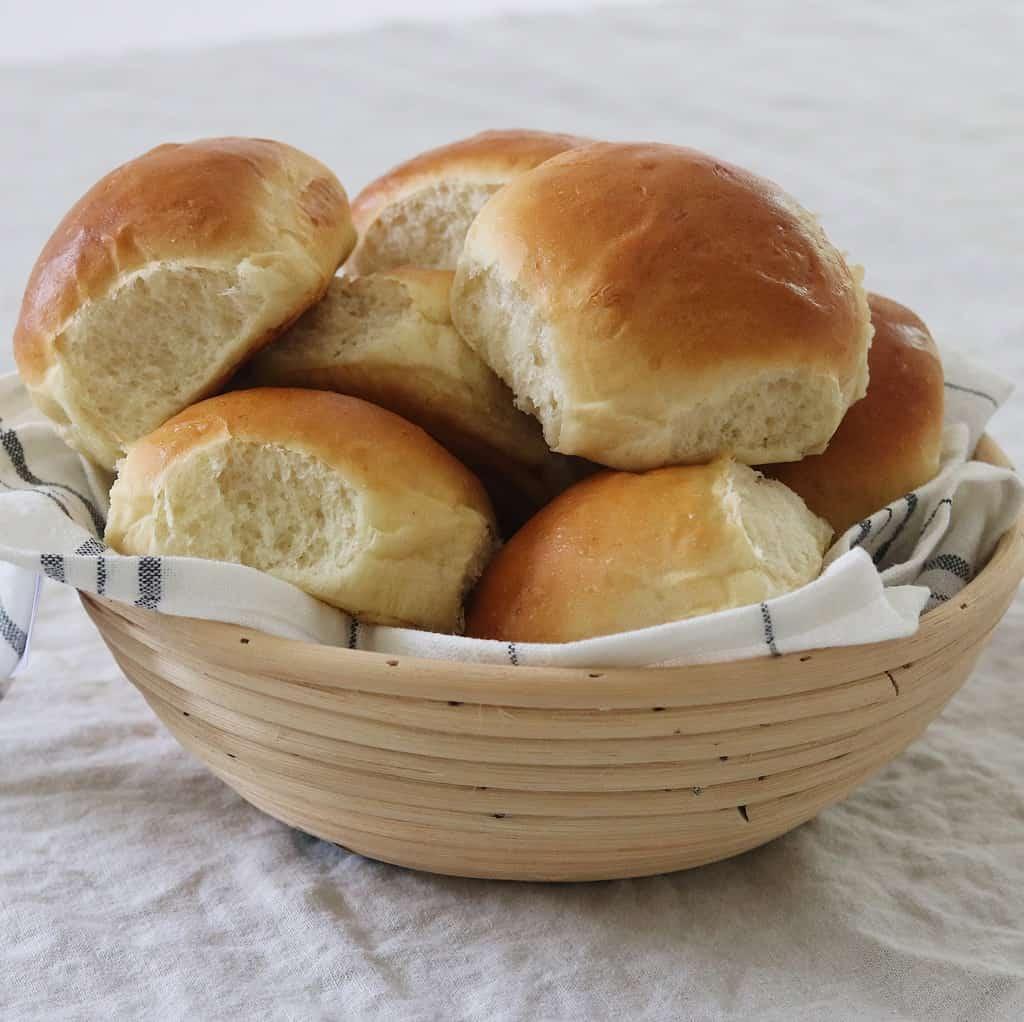 Teboller med smør