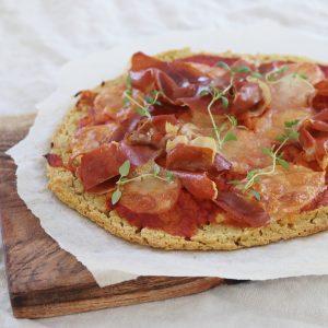Pizza med quinoa