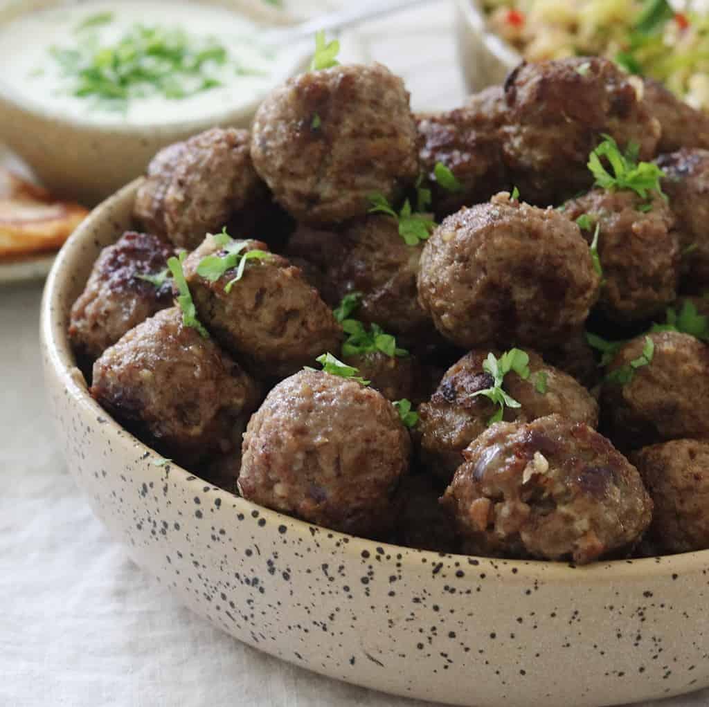 Tyrkiske frikadeller med oksekød