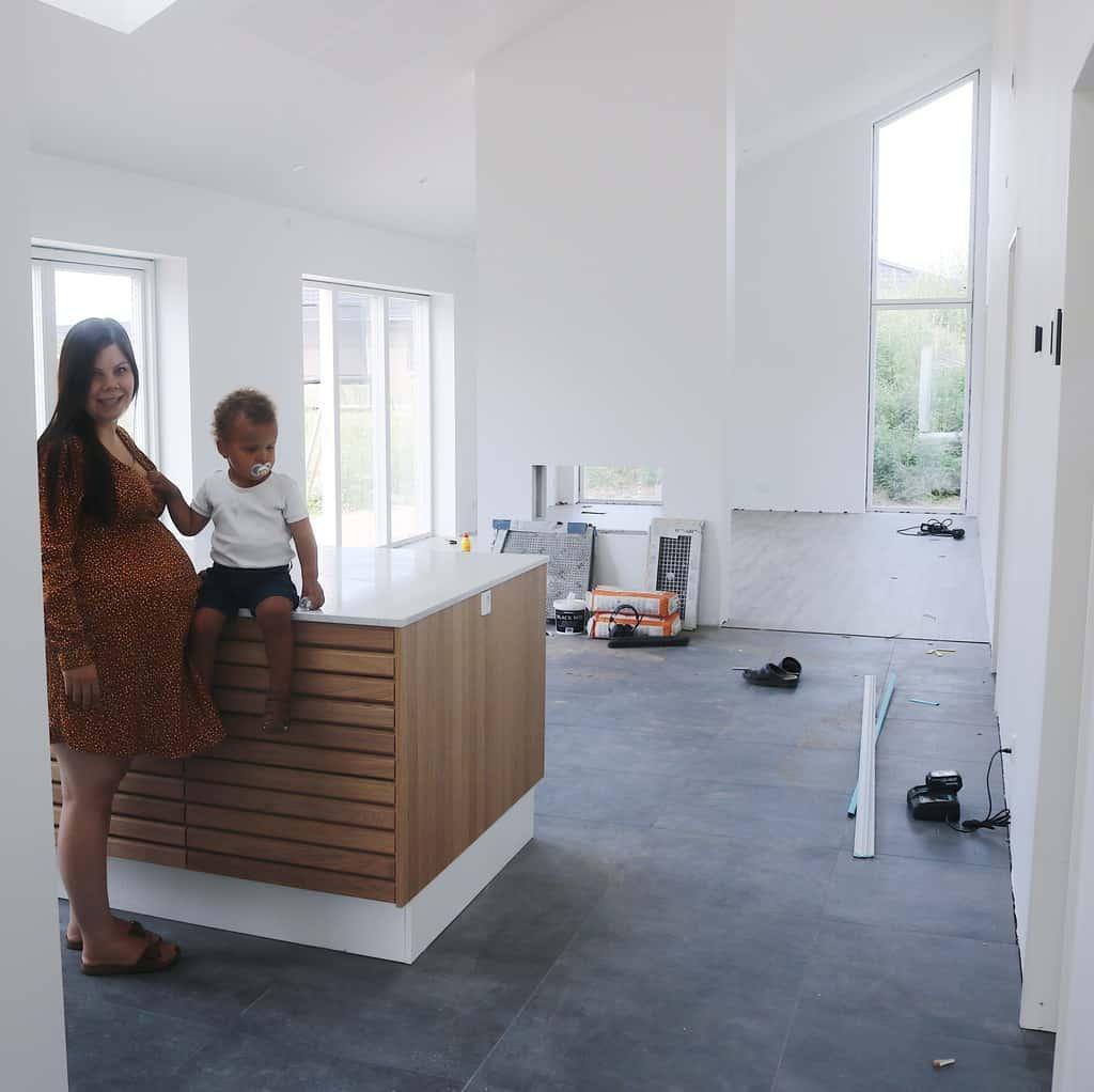 Materiale valg og visioner for vores nybygger hjem