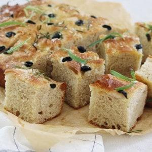 Madbrød med oliven