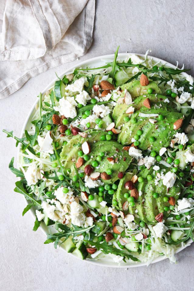 Ærter i salat