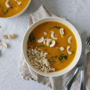 Curry med græskar