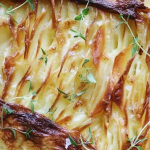 Flødestuvet kartofler