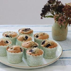 Muffins med frugt