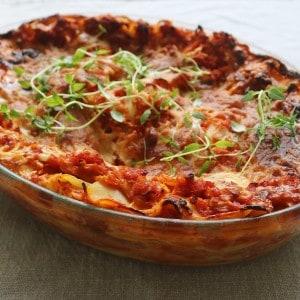 Lasagne med linser