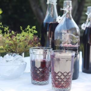 Saftevand hjemmelavet