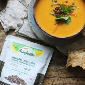 Linse suppe med Bonduelle