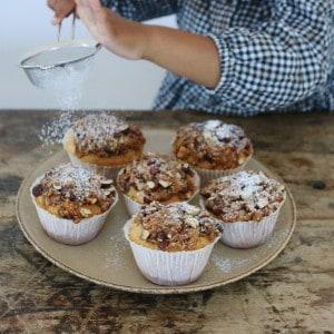 Drømmekage muffins