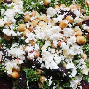 Salat med kikærter