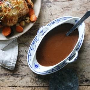 Kylling med brun sauce