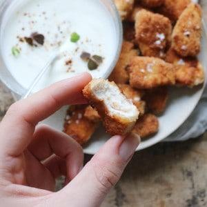 Nuggest af kylling