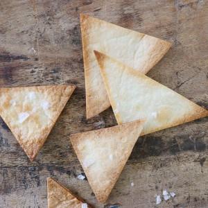 Hjemmelavede tortilla chips