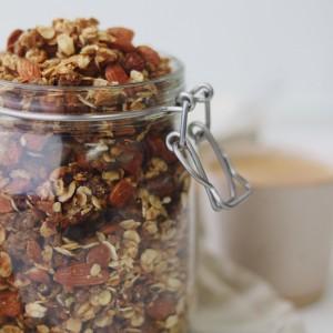 Rugbrøds granola