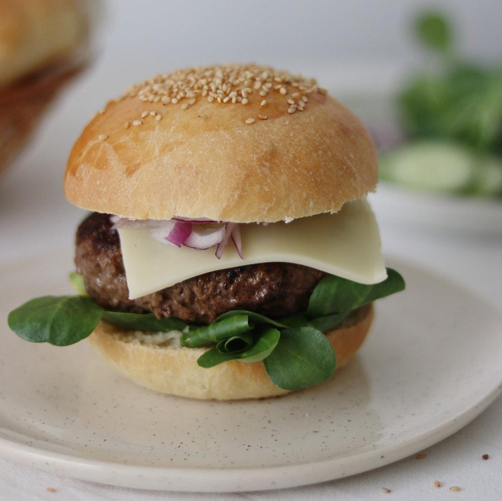 Hjemmelavede burger