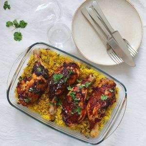 Tandori kylling med ris