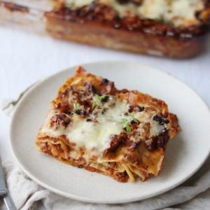Lasagne med bechamelsauce
