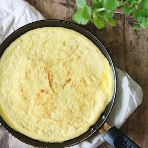 Omelet i pande