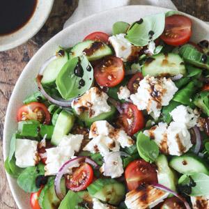 Græsk indspireret mad