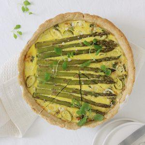 Grøntsags tærte