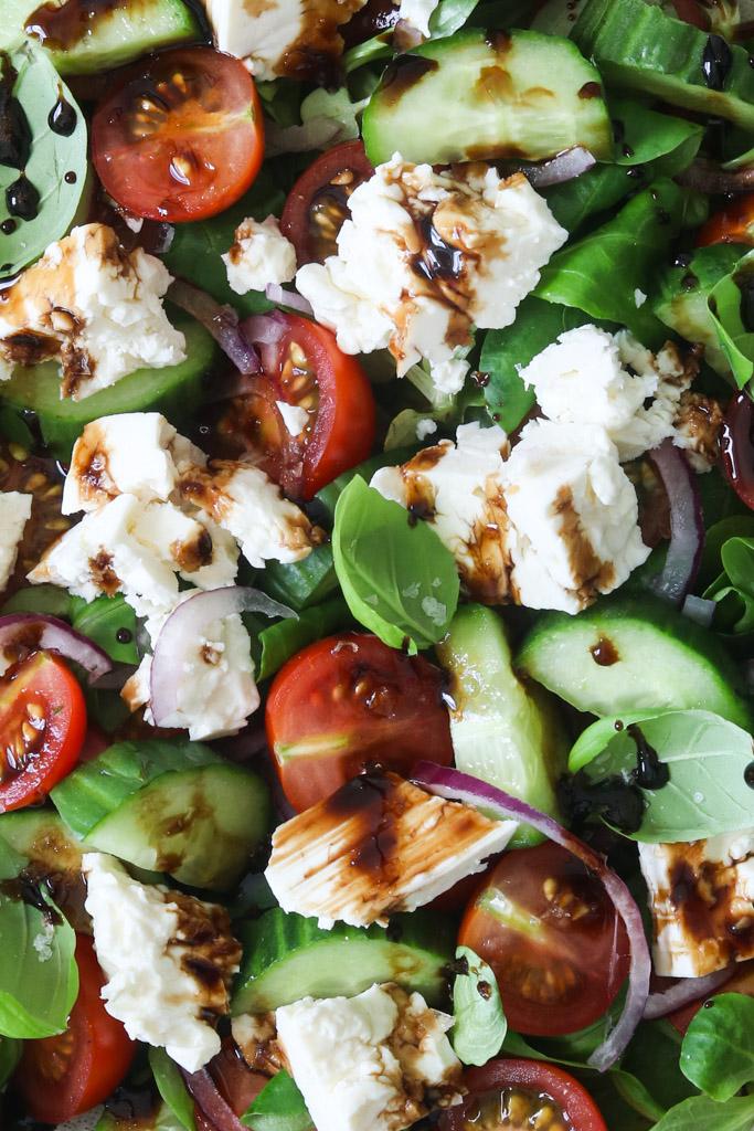 Græsk salat opskrift