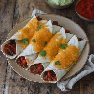 Tortillas med mexifyld