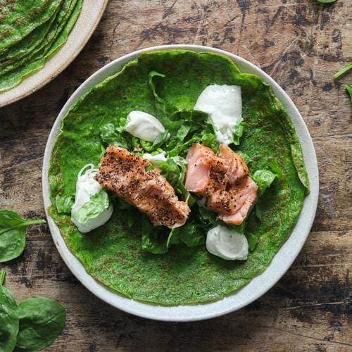 Spinatpandekager – lækre madpandekager