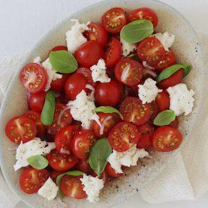 Italiensk tomatsalat