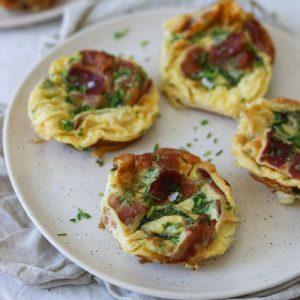 Muffins af æg