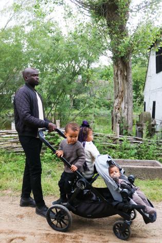 Familie i Den Fynske Landsby