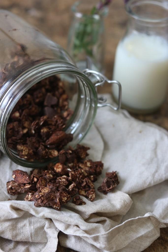 Chokolade granola